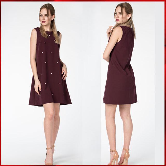 Женское летнее платье  Эмили, сливовый, фото 1