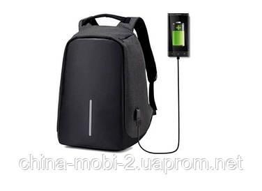 Рюкзак протикрадій Bobby USB Pinao travel bag d3718-1, чорний