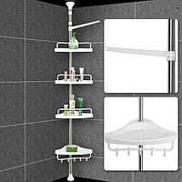 Полка для ванны угловая металлическая Aidesen ADS-188 Multi Corner Shelf