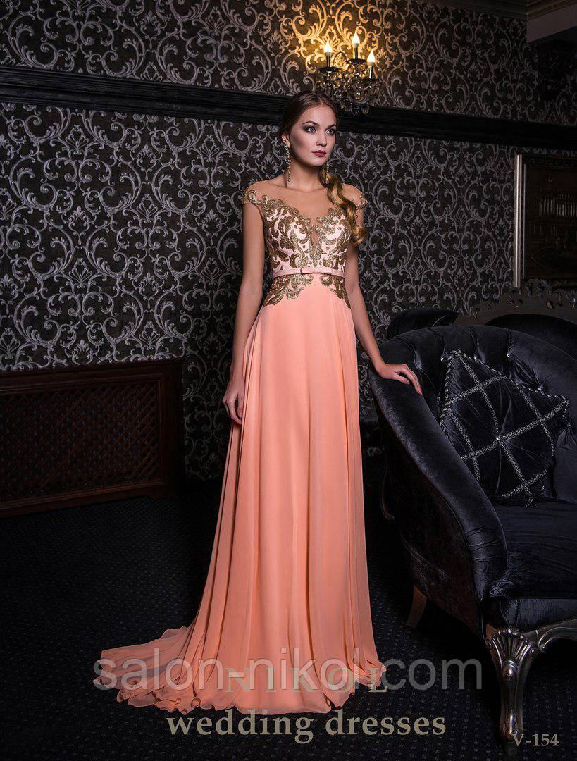 Вечернее, выпускное платье V-154