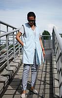 Женский бархатный  жилет, жакет без рукавов NKLOOK, фото 1