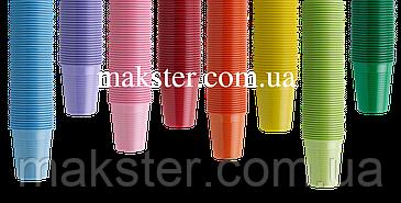 Стаканчики одноразовые цветные, фото 2