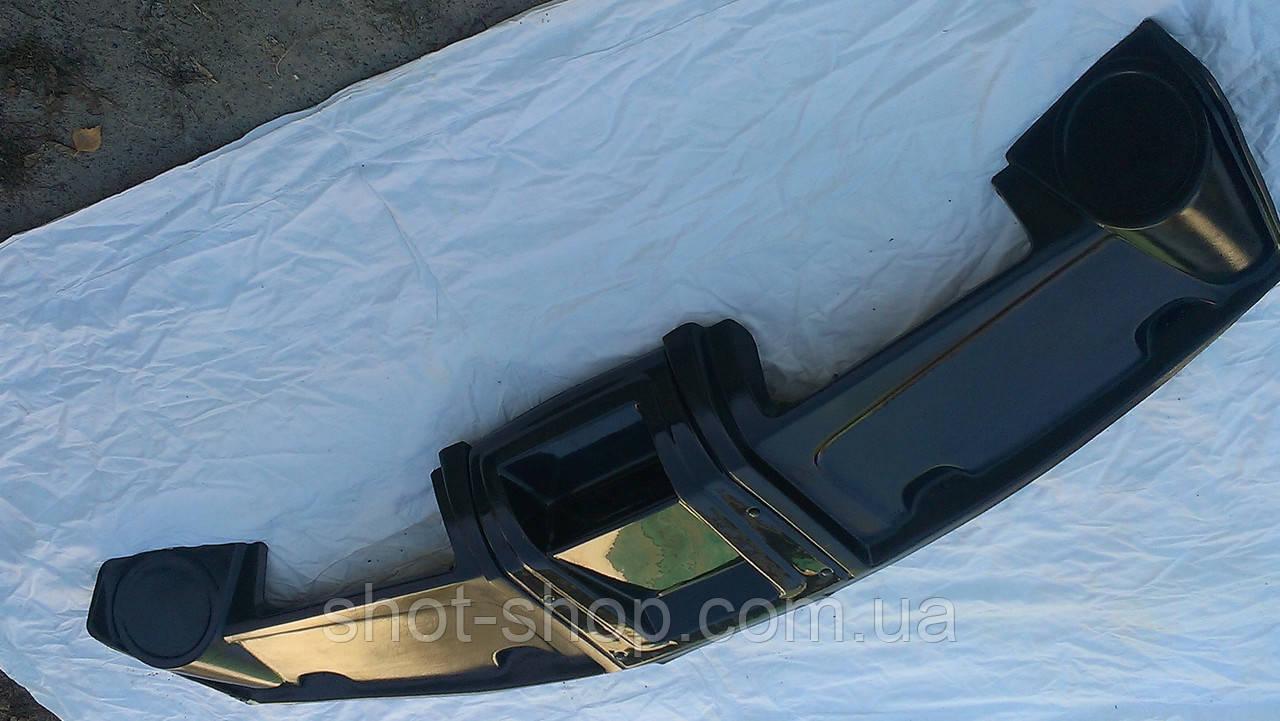 Полка верхняя под магнитофон (черная) УАЗ 452