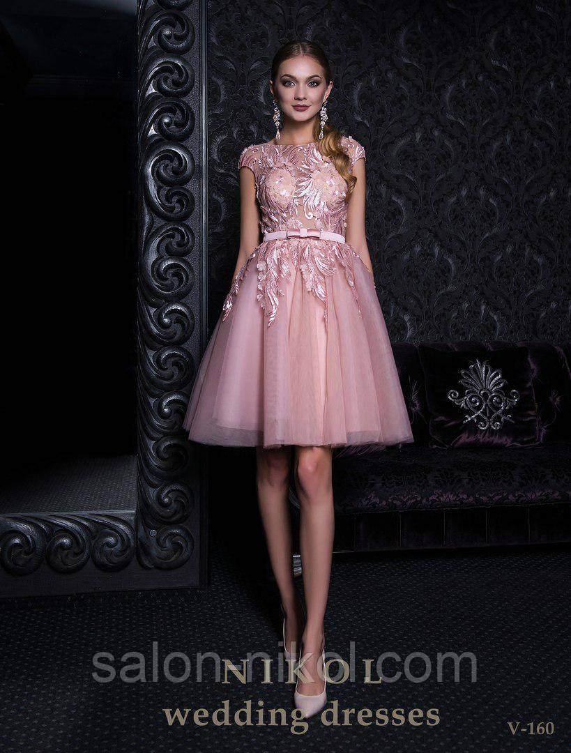 Вечернее, выпускное платье V-160