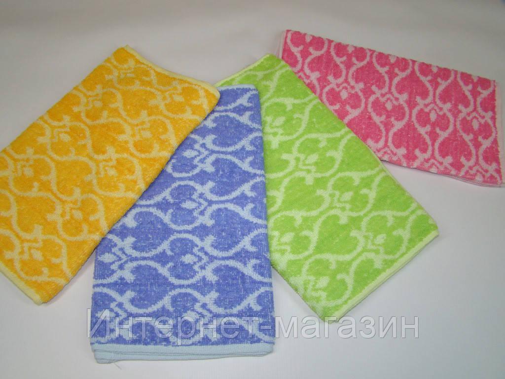 Кухонное полотенце махровое (30х70 см) код 0086
