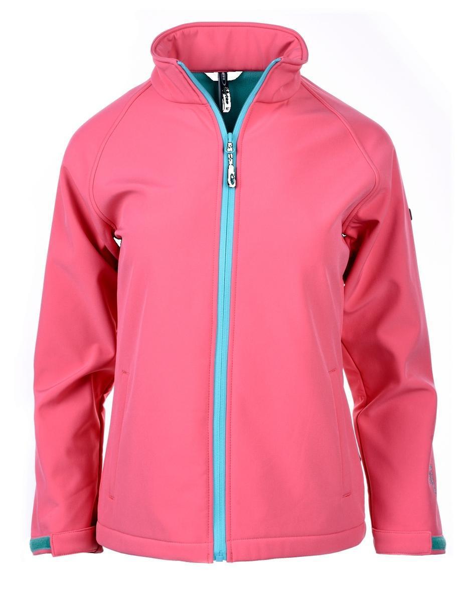 Детская куртка легкая Martes Nantes JR Pink