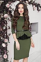 S, M | Вечірній жіночий темно-зелений костюм Avito