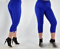 Укороченные брюки летние, с 52-62 размер, фото 1