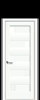 Дверное полотно Пиана глухое ПП Премиум белый матовый