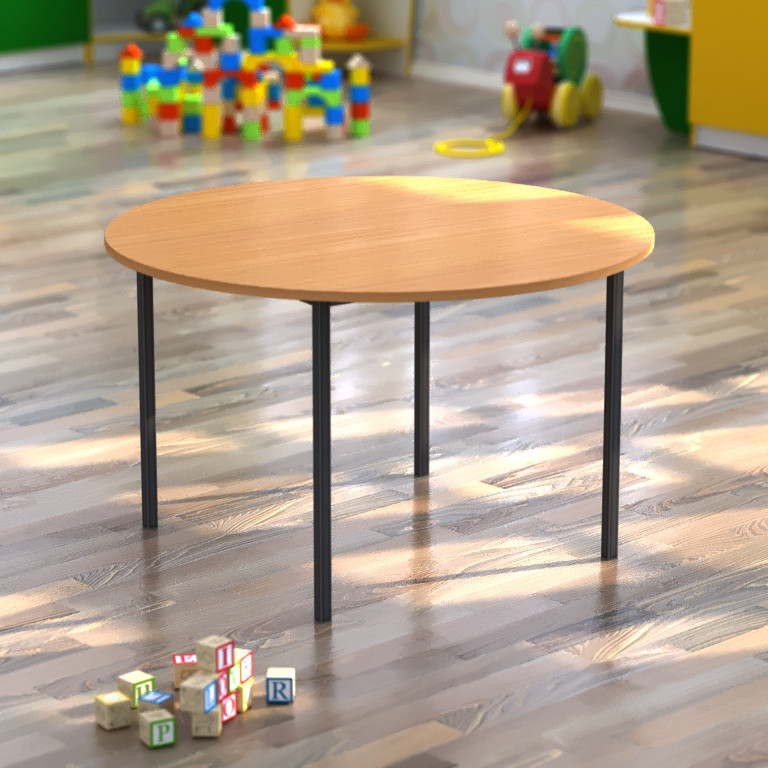 Стол детский круг d=900*h