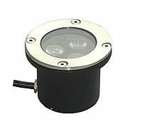 Светильник тротуарный 3W RGB Lemanso LM12