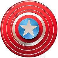 Спиннер металл Щит Капитан Америка