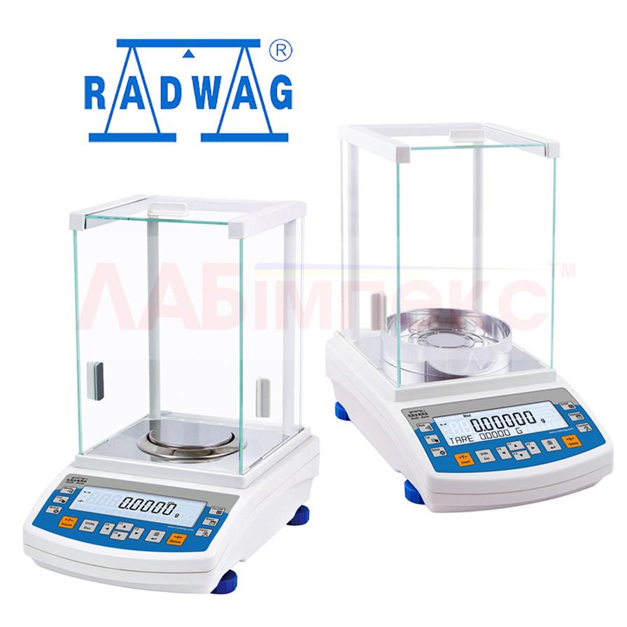 Весы аналитические, все модели AS .../С (AS...R), Radwag, Польша