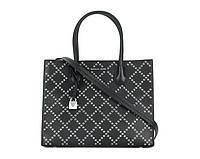 Женская сумка в стиле Michael Kors Mercer Grommeted small black, фото 1