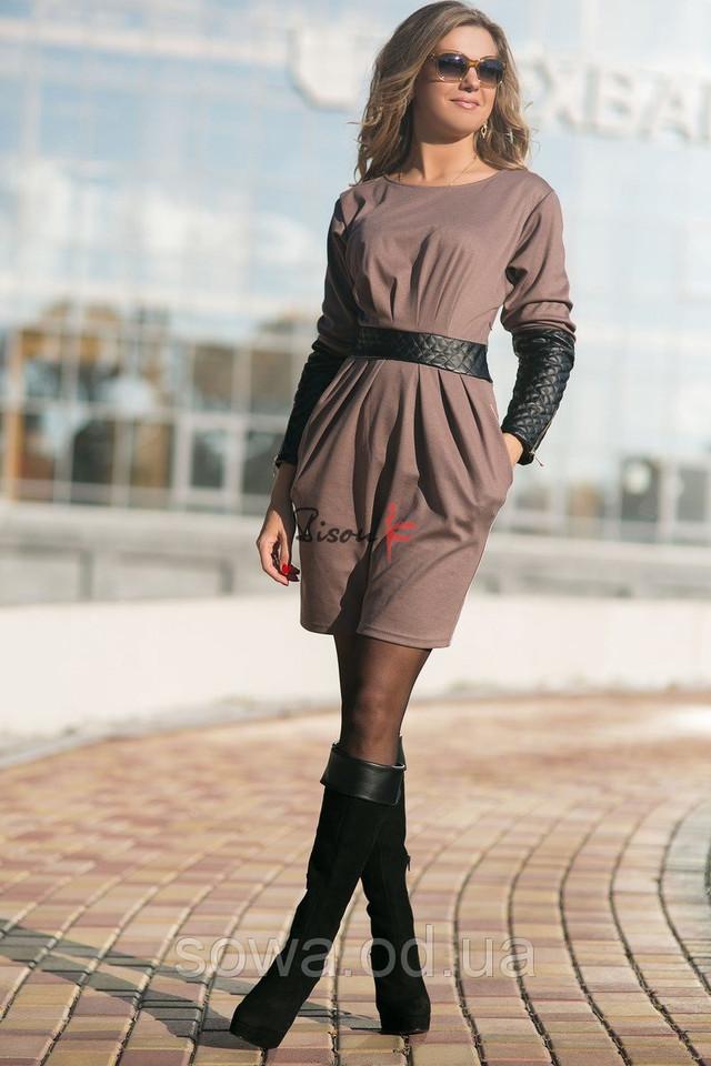 Стильное женское Платье модель # 7429 фото