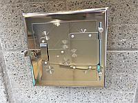Дверца для чистки сажи, прочистная, сажетруска (нержавейка)