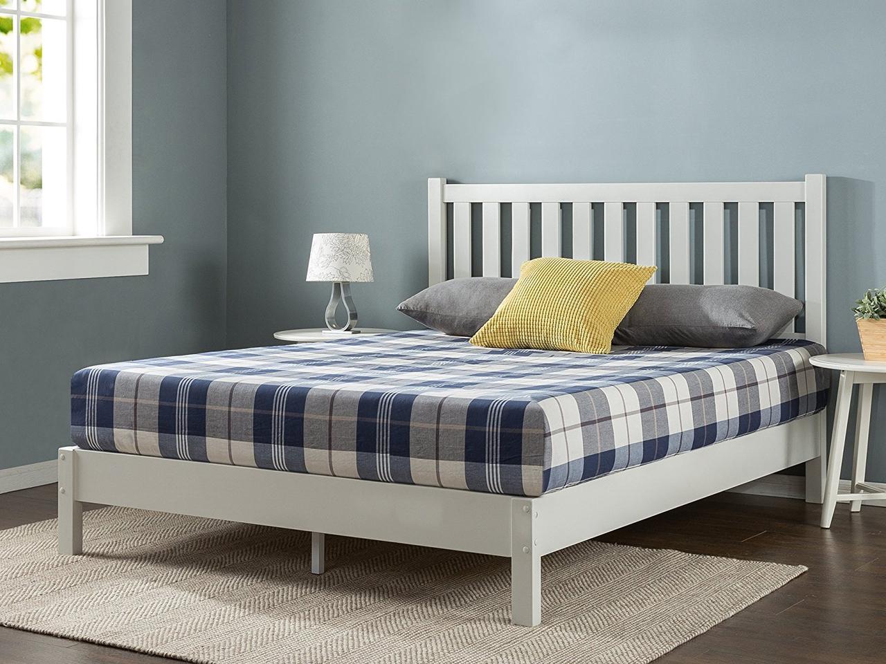 """Двухспальная кровать из массива дерева """"Лука"""""""