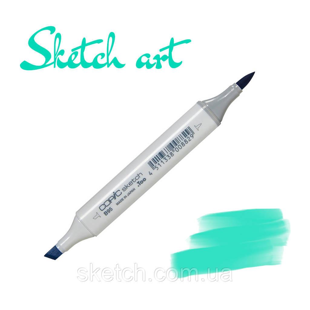 Copic маркер Sketch, #BG-34 Horizon green