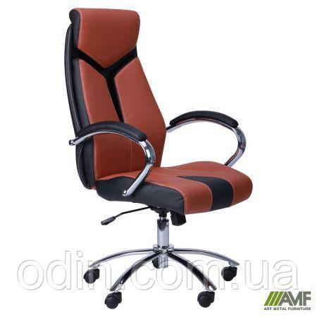 Кресло Прайм (СX 0522H Y10-02) Коричневый 511136