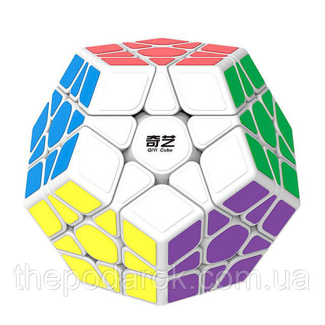 Кубик Рубика Мегаминкс Mo Fang белый