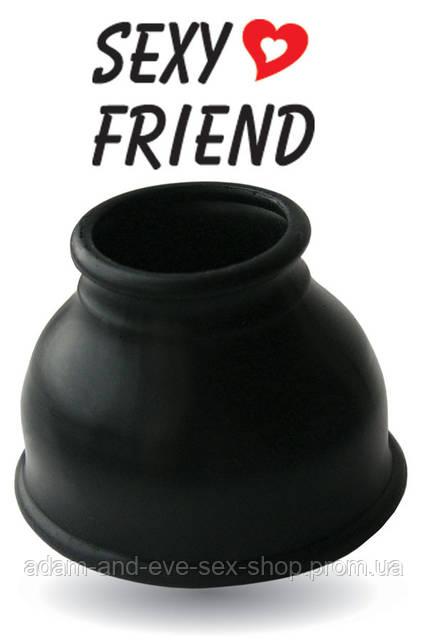 НАСАДКА ДЛЯ ПОМПЫ цвет чёрный, размер L, D 35 мм