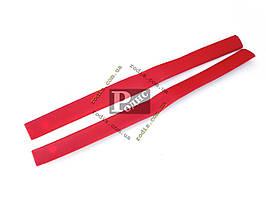 Накладки центральных стоек ВАЗ 2101, 2102, 2103, 2106 (красные) Lada Classic «AutoElement»
