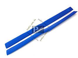 Накладки центральных стоек ВАЗ 2101, 2102, 2103, 2106 (синие) Lada Classic «AutoElement»
