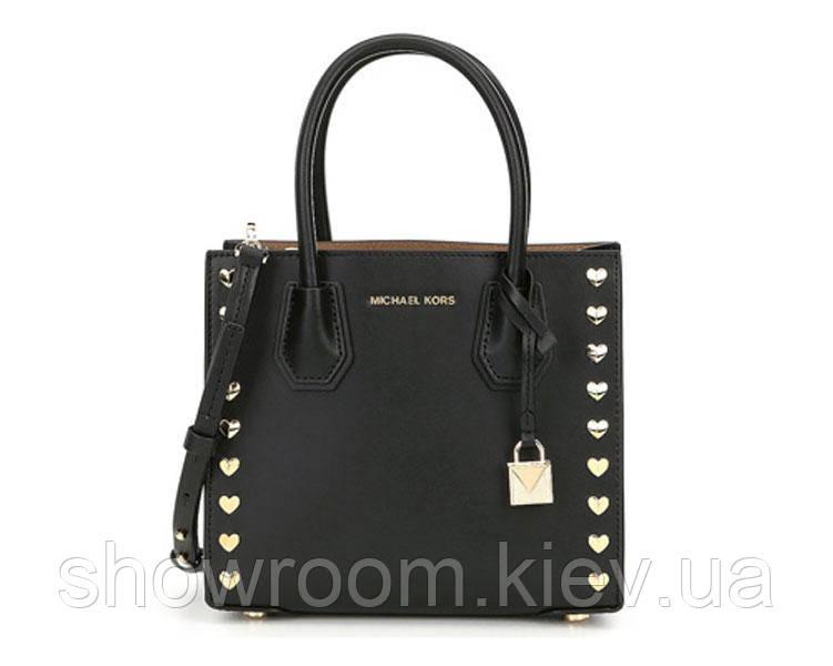 Женская сумка в стиле Michael Kors Mercer Heart small black
