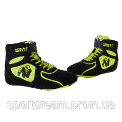 Кроссовки Gorilla Wear Chicago High Tops - Black/Neon Lime Limited 90006904
