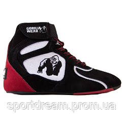 Кроссовки Gorilla Wear Chicago High Tops - Black/White/Red Limited 90006915