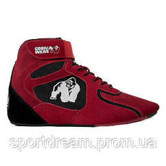 Кроссовки Gorilla Wear Chicago High Tops - Red/Black Limited 90006500