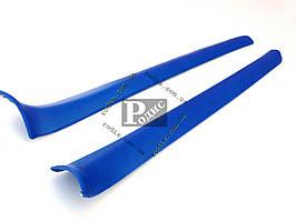 Накладки передних стоек ВАЗ 2101, 2102, 2103, 2106 (синие) Lada Classic «AutoElement»