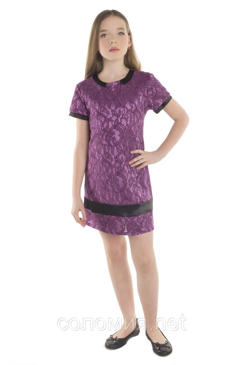 Прелестное Нарядное платье из кружева для девочки  134-152р