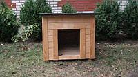 Будка для собаки Рекс | M | Внутренний размер 60*70 | Вагонка