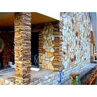 Облицовка стен натуральным камнем