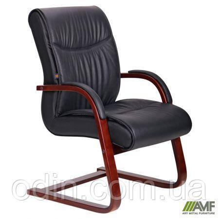 Кресло Монтана CF, кожа черная (619-D+PVC) 038672