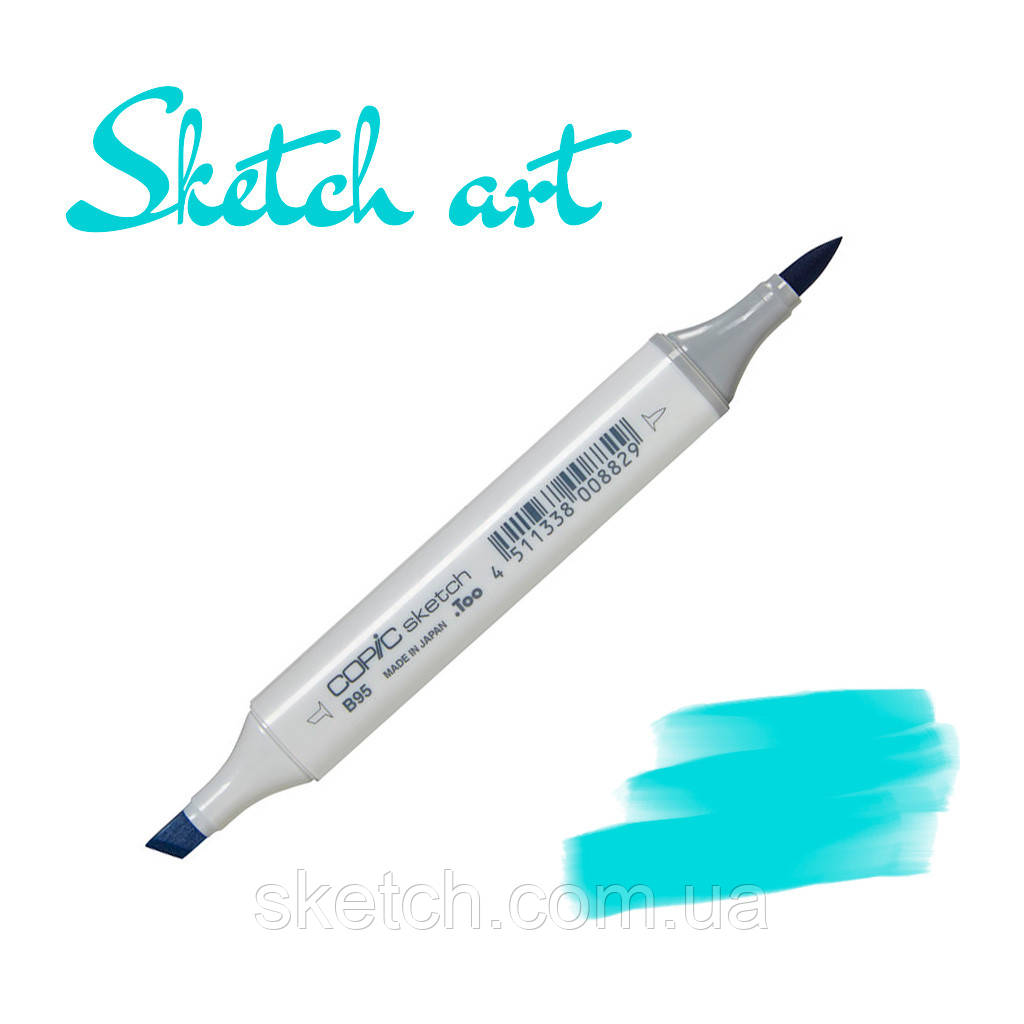 Copic маркер Sketch, #BG-45 Nile blue