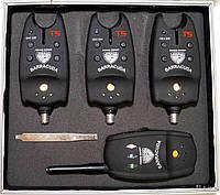 Электронный сигнализатор поклевки Condor Barracuda TLI-04 (комплект 4+1)