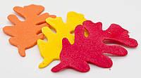 Наклейки для творчества «Разноцветные листики», ЭВА, 200 шт., фото 1