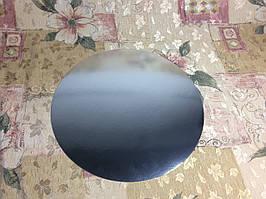 Подложка под торт 36см, Серебро/белая