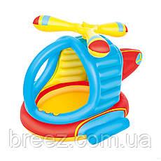 Детский надувной центр Bestway Вертолет с шариками 140 х 127 х 89 см с шариками 25 шт, фото 2