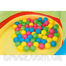 Детский надувной центр Bestway Вертолет с шариками 140 х 127 х 89 см с шариками 25 шт, фото 3