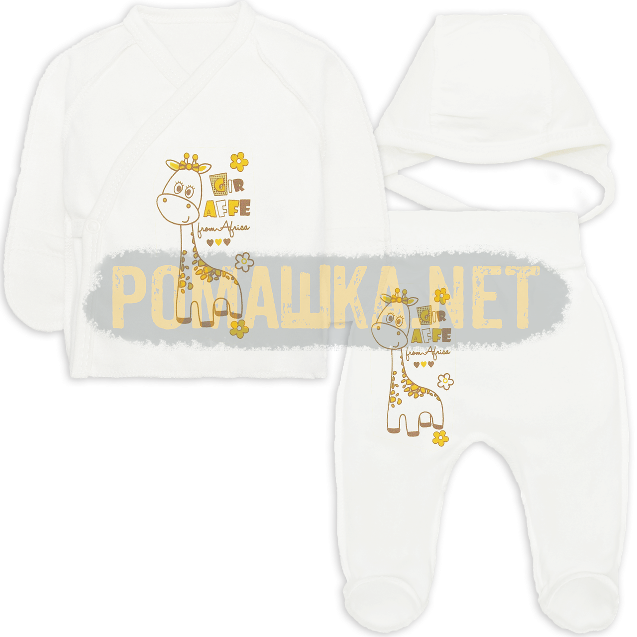 0227c47831beb Костюмчик (комплект) на выписку р. 56 для новорожденного тонкий ткань КУЛИР  100%