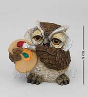 Фигурка Сова художник 9 см OL-6497-XE