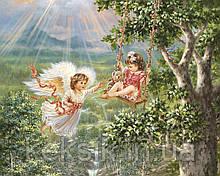 Вафельная картинка Ангелочек