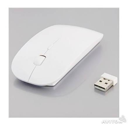 Беспроводная мышка Apple белая, фото 2