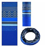 Теплый бафф-шарф ROCKBROS (BLUE STRIPES)