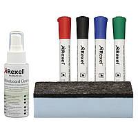 """Набор аксессуаров для магнитно-маркерных досок """"Rexel"""""""