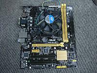 Комплект 1150 Asus H81M-CT + Pentium G3260 3.3Ghz, фото 1