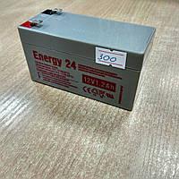 Герметичный свинцово-кислотный аккумулятор, AGM , 12 вольт 12 Ач , вес 1,65 кг. клемма Т1